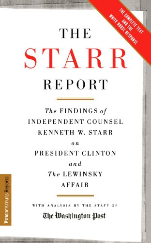 Image of The Starr Report