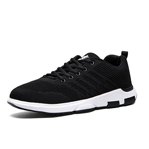 Running Shoes for Men Mens Sneakers Fashion Sports Outdoor Athletic Shoes Trainer Shoe Black