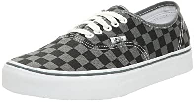 Vans Authentic - (Checkerboard) Pewter/Black - 12