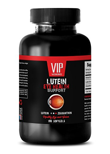 eye health vitamins lutein and zeaxanthin - LUTEIN - HEALTHY EYE AND VISION - lutein with zeaxanthin 20 mg - 1 Bottle 180 Softgels