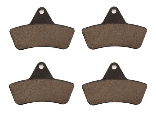Front Brake Pads for Arctic Cat ATV 500CC Automatic 2000 2001 (Automatic Brake Pad)