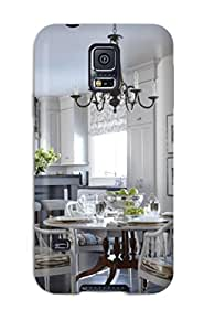 New Arrival Dining Space With Chandelier And Bamboo Chairs For Galaxy S5 Case Cover by icecream design
