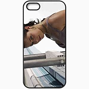 Personalized iPhone 5 5S Cell phone Case/Cover Skin Ana Ivanovic 6 Sports Black