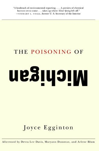 The Poisoning of Michigan by Joyce Egginton (2009-08-01)