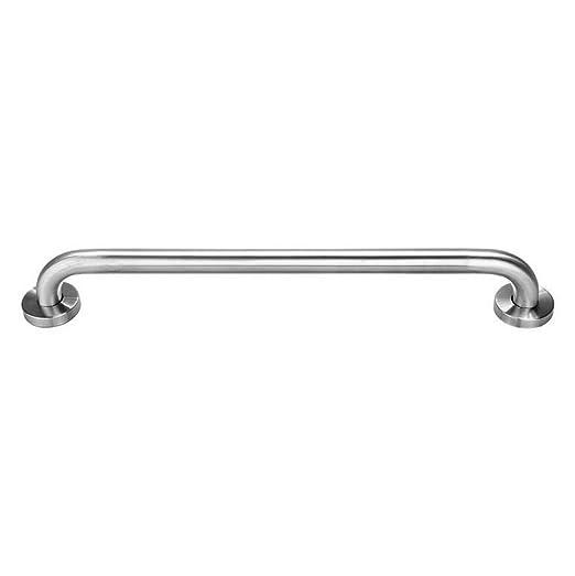 Lexgo - asidero para baño, montado en la pared, de acero inoxidable, recto, toallero, soporte de ayuda para ducha, pasamanos de apoyo, de seguridad, ...