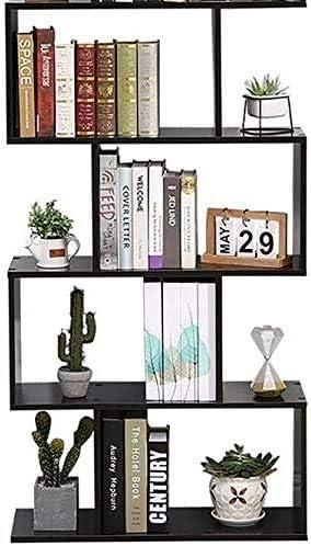 Etnicart – Librería Estantería Wengué - Oficina - Diseño moderno madera - 70 x 23,5 x 127,5 cm - Estantes de pared hogar entrada salón
