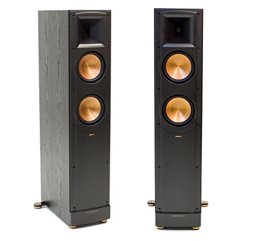 Klipsch RF62 II Black (Ea) 2-Way Reference Floorstanding Tower Speaker (Black Pair)