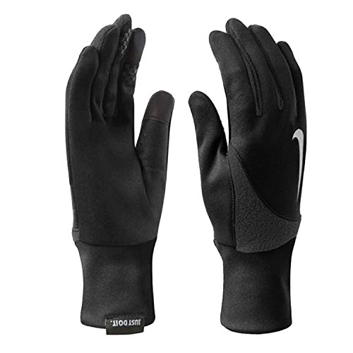 Nike Women's Element Solid Thermal Touch Screen 2.0 Run Gloves Black Small