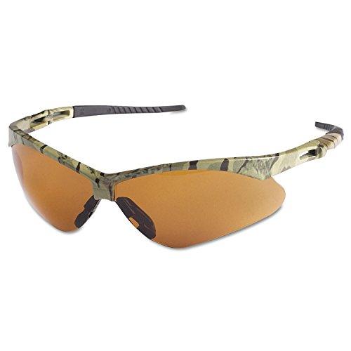 Jackson Safety 19644 V30 Nemesis Safety Glasses, Bronze Lenses with Camo - Frame Camo