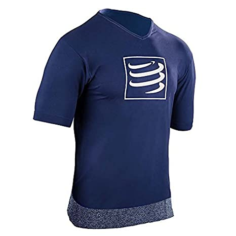 huge selection of outlet for sale best price COMPRESSPORT Training - T-Shirt Course à Pied - Noir 2019 Tshirt Sport