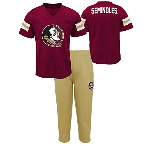 Gen 2 NCAA Florida State Seminoles Toddler Training Camp Top & Short Set, 2T, Burgundy