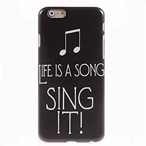 JOE Sing It Design Hard Case for iPhone 6