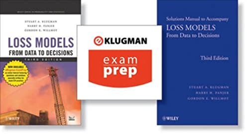 loss models from data to decisions book solutions manual and rh amazon com Physics Solutions Manual Math Solution Manual