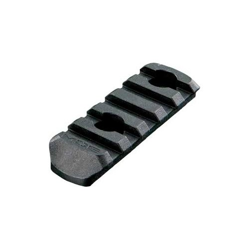 Magpul MAG406-BLK MOE Polymer Rail Section, 5-Slot, Black