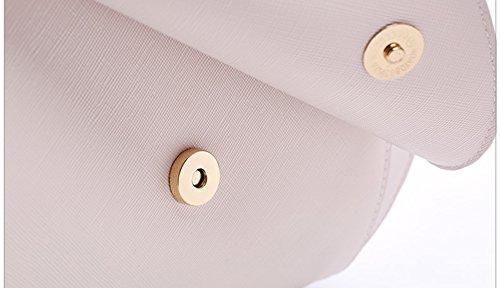 Sommer kleine Paket, die neue Mode Mini-Schulter eingewickelt Rucksack, Studenten koreanische Version der wilden Lieblings-Tasche ( Farbe : Schwarz ) Beige