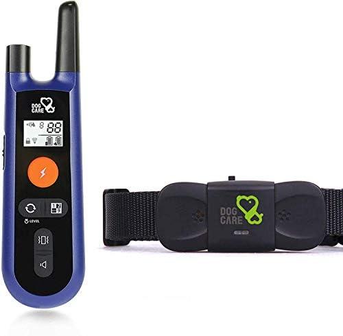 DOG CARE Dog Training Collar – Dog Shock Collar w 3 Training Modes, Beep, Vibration and Shock, Rainproof Training Collar, Up to 1000Ft Remote Range, 0-99 Shock Levels Dog Training Set