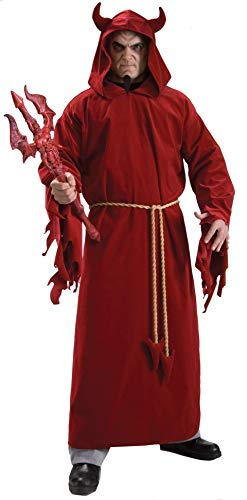 Devil Outfit Ideas For Halloween (Rubie's Demon Lord, Red, One Size)
