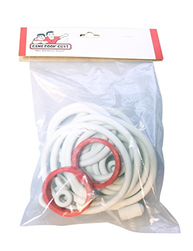 Game Room Guys White Ring Kit for Chicago Coin Show Time Pinball Machine by Game Room Guys