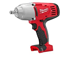 Milwaukee 2663-20 M18 18V 1/2 Inch Lithium Ion 450 Foot Pounds Brushless Impact Wrench (Battery Not Included, Power Tool Only)
