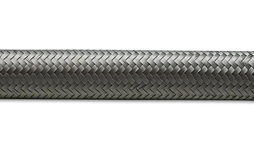 Vibrant -10 AN SS Braided Flex Hose (20 foot roll) (11930)