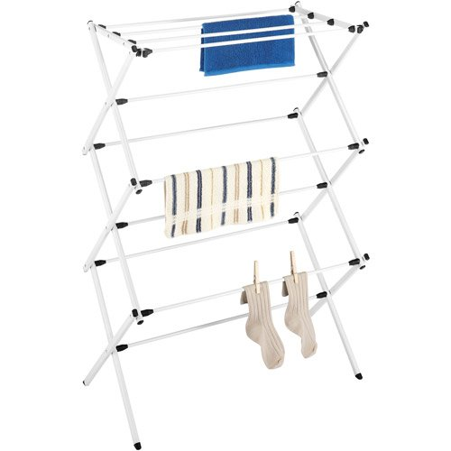 Whitmor Folding Drying Rack White
