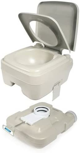 Camco 2.6 Gallon 2.6-Gallon Portable Travel Toilet