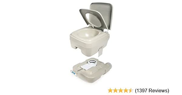 CAMCO 41545 Travel Toilets 5.3 gal