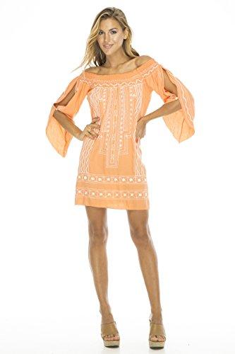 [Dress Samira Salmon M/L] (Pink Renaissance Dress)