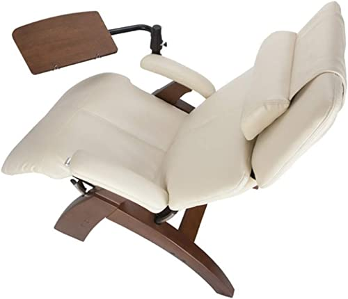 Perfect Chair Human Touch PC-610 Omni-Motion Power Walnut Zero-Gravity Recliner Laptop Personal Computer Desk Table