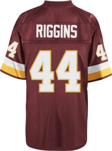 John Riggins Washington Redskins Mitchell   Ness Throwback Premier Red  Jersey size Small 704d4aca3