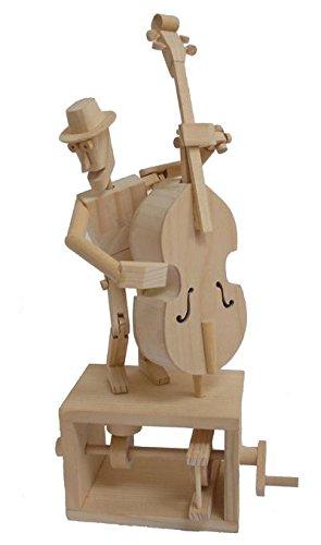 Timberkits - Double Bass - Wooden Model Kit