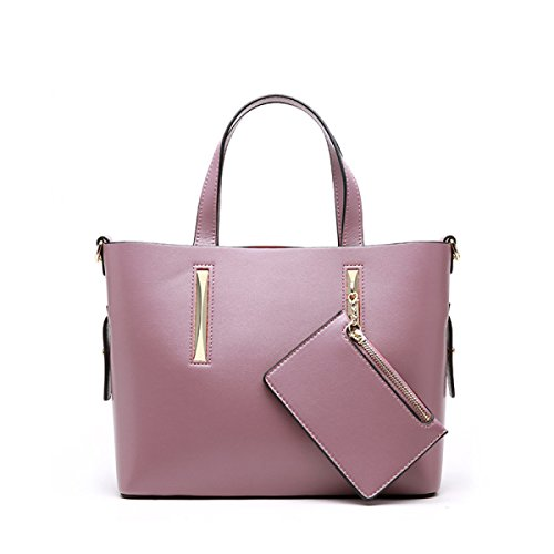 Señoras Moda Salvaje De Ocio De Gran Capacidad De Mano Pink