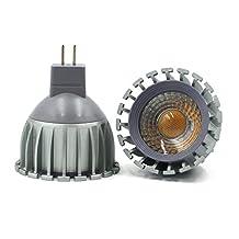 LEDIARY MR16 GU5.3 12V LED Bulb 5W Super Bright Aluminum Cup Spotlight LED COB Lamp Energy Saving Light