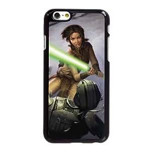V5U86 Star Wars Caballeros de la Antigua República II Los Señores Sith G4S3YQ iPhone funda 6 Plus 5.5 pulgadas funda caja del teléfono celular cubren DJ5ILL8KW negro