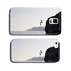 People jumping into the water from cliff cell phone cover case iPhone6 Plus