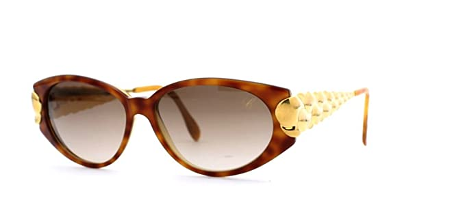 3c2c29fb4f45a Chopard Lunette de soleil - Femme Marron Brown Gold: Amazon.fr ...