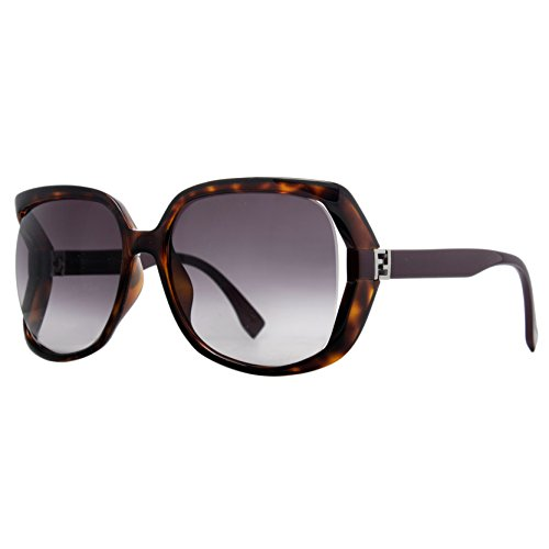 Fendi Women's FF0053 Sunglasses, Havana