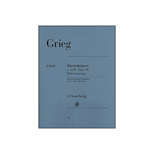 Piano Concerto A Minor Op 16 (Grieg Concerto In A Minor Sheet Music)