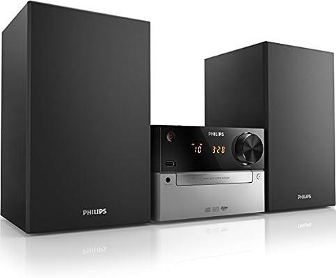 Philips MCM2300 - Microcadena con reproducción de CD, USB y ...