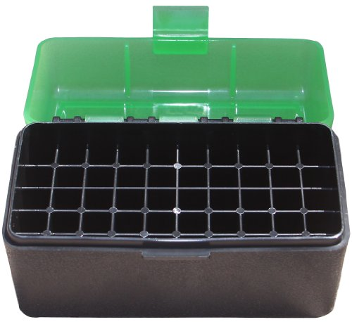 MTM 50 Round Flip-Top Rifle Ammo Box 220 Swift 243 308 (Bullet Case)