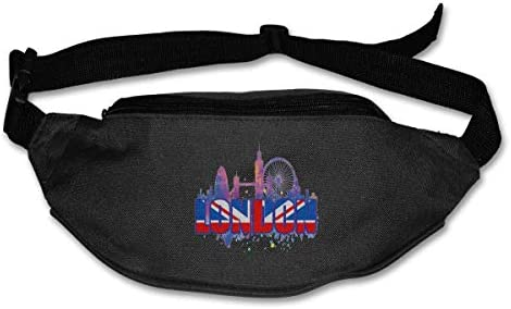ロンドンユニセックスアウトドアファニーパックバッグベルトバッグスポーツウエストパック