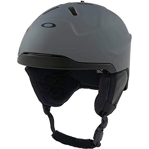 (Oakley Mod 3 MIPS Adult Ski Snowboarding Helmet - Forged Iron/Large)