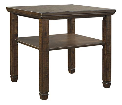 Signature Design by Ashley Royard Rectangular End Table, Brown (End Table Group)