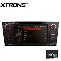 XTRONS 7 Inch 1080P Video Car Stereo Multi-touch Screen Radio DVD Player 2 DIN GPS for BMW E90