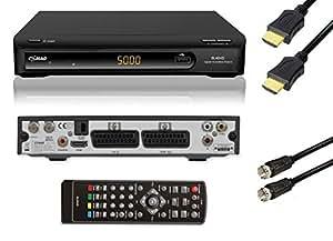 Comag Receptor Satélite (PVR Ready, USB 2.0para disco duro externo O USB Stick, SCART, HDMI), color negro