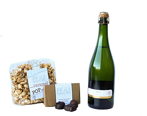 Peju Brut Simply Irresistible Gift Set, 1 x 750 mL