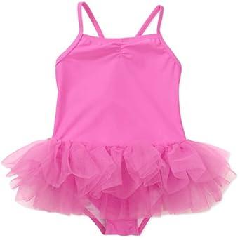 "Amazon.com: OP® Girl's Toddler Pink ""Pretty Tutu"" Bathing"