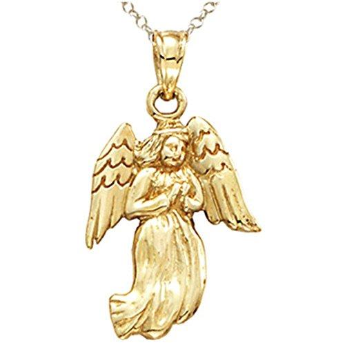 Angel Charm 14kt Gold Jewelry - 6