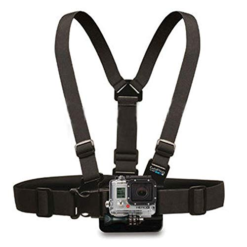 WULING Durable Adjustable Chest Mount Harness Chest Strap Breast Belt for HD Hero 4 3+ 3 2 1 SJ4000 SJ5000 Camera GP26 by WULING