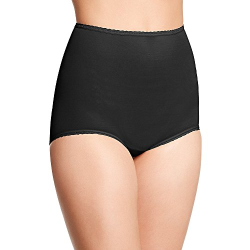 Bali Women`s Set of 6 Skimp Skamp Brief Panty - Best-Seller! 7, Black